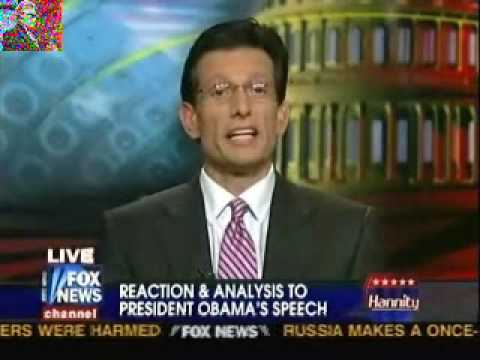 """Eric Cantor """"Taken Aback"""" By Obama's Address To Congress"""