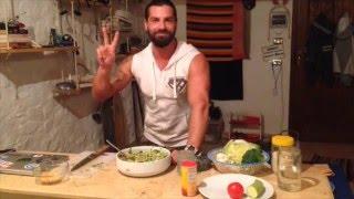 VancheZz Vegan Power!!! Иван Попретинский рецепт белковое пюре фитнес салат меню