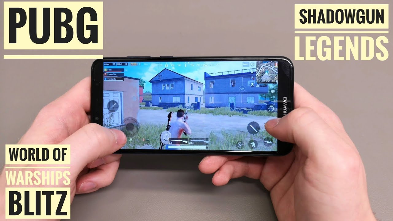 Huawei Y6 2018 Gaming Pubg World Of Warships Blitz Shadowgun Legends Real Racing 3 Youtube