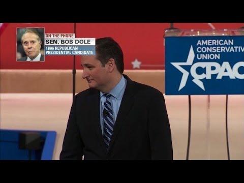 Bob Dole on GOP CIvil War: who's worse, Cruz or Trump?