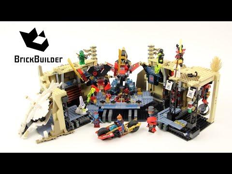 Lego Ninjago 70596 Samurai X Cave Chaos Lego Speed Build Youtube