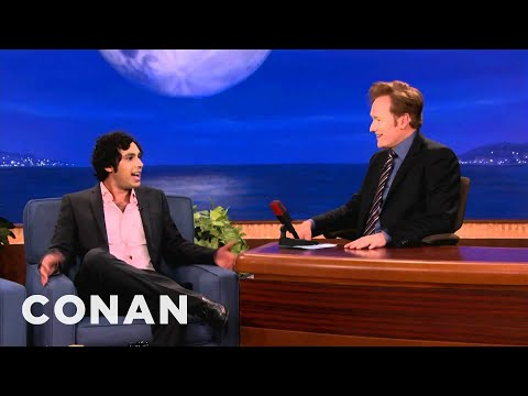 Kunal Nayyar's Big Fat Indian Wedding   CONAN on TBS