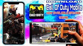 call of duty mobile download apk obb