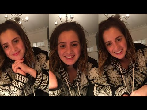 Laura Marano Instagram live stream September 13th 2018
