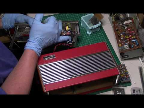 Another Roberts R600 radio repaired Part 1: First look and Mullard LP1171 module overhaul