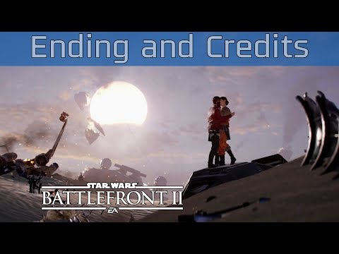 Star Wars Battlefront II - Ending and Credits [HD 1080P/60FPS]