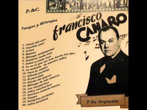 Mala suerte tango, Canaro y Fama
