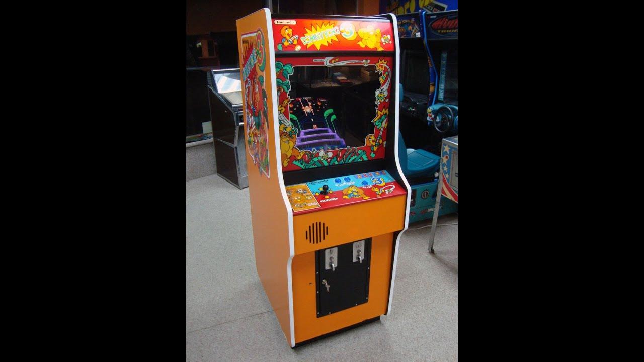 Nintendo S Donkey Kong 3 Arcade Game Vintage 80 S Arcade Goodness
