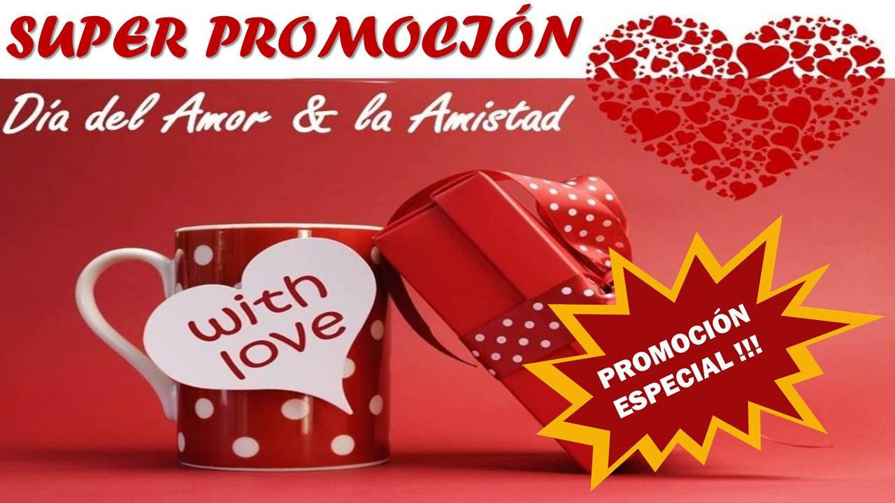 Promocion Dia De Amor Y Amistad Solo Para Colombia