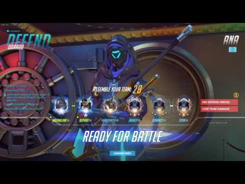 Overwatch Not A Pro Yet Gale RANK 1