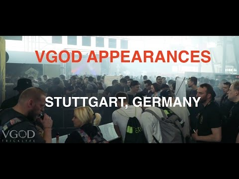 VGOD Appearances: Stuttgart, Germany | The Hall Of Vape 2017