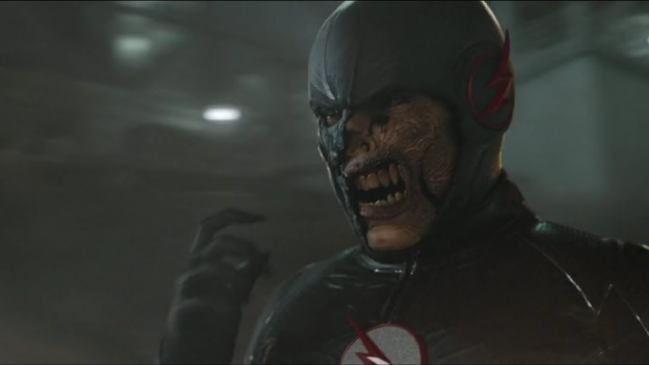 The Flash 2x23 Finale - Is This Black Flash HD - YouTube