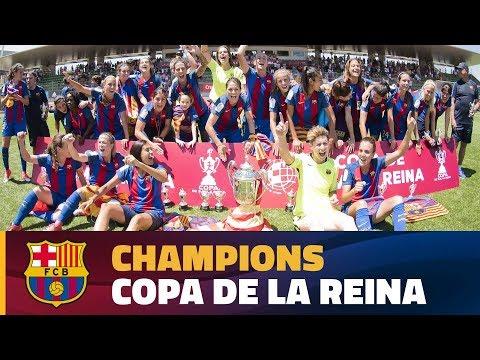 [HIGHLIGHTS] FUTBOL FEM (Copa): FC Barcelona - Atlético de Madrid Féminas (4-1)