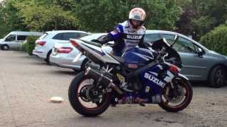 Suzuki GSXR1000 revving and rev limiter