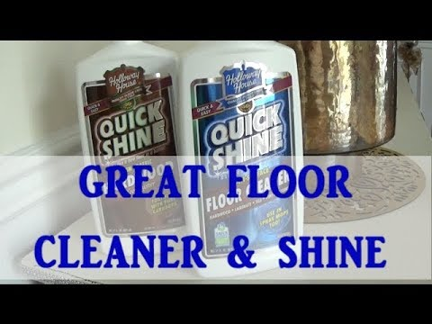 CLEAN WITH ME | FLOOR CLEANER & SHINE