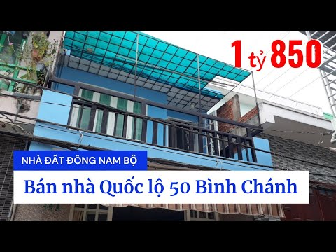 Chính Chủ Bán Nhà Quốc Lộ 50 Xã Bình Hưng Huyện Bình Chánh Giá Rẻ 2020