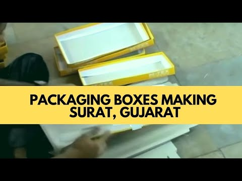 Sari Box Making, Surat