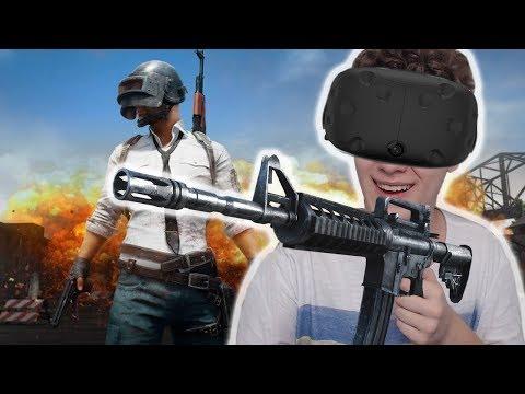 BATTLEGROUNDS EM REALIDADE VIRTUAL! STAND OUT VR