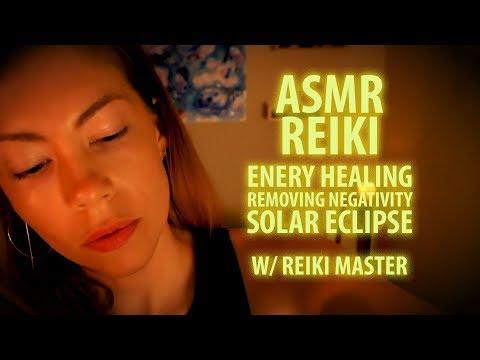 REIKI WITH ASMR: ENERGY HEALING, SOLAR ECLIPSE