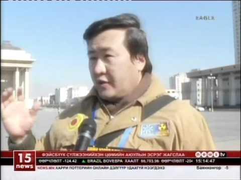 Anti Nuclear Demonstration Mongolia - Bagt jagsaal - 2012.03.11 - Eagle television