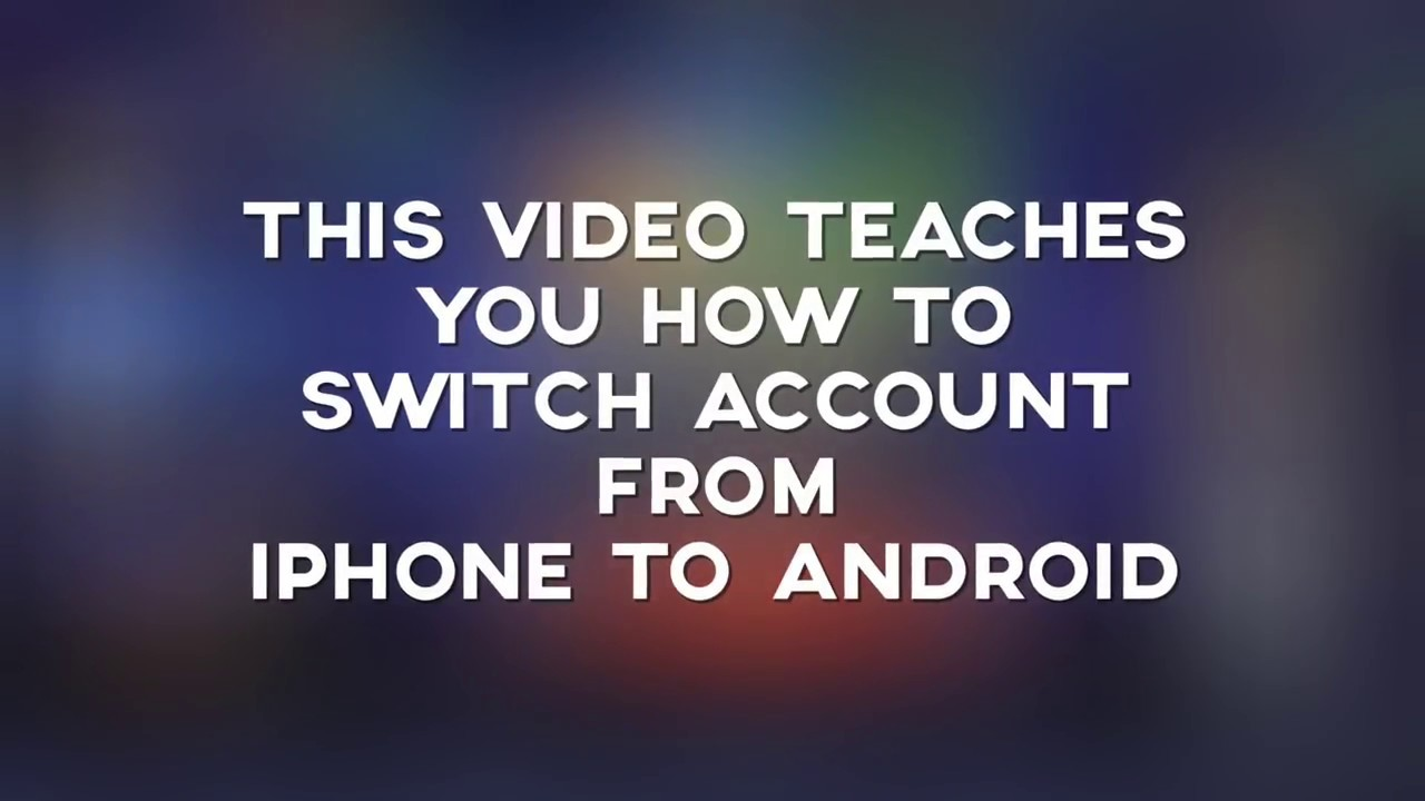 Mobile Legends: Switching Account from iPhone to Android [Vice Versa]
