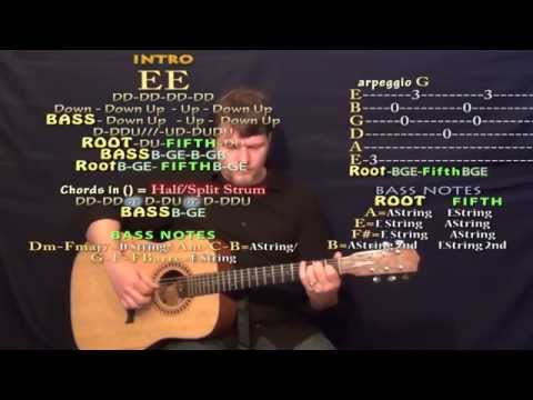 Blue Christmas (Elvis) Fingerstyle Guitar in E Cover Lesson with Chords/Lyrics