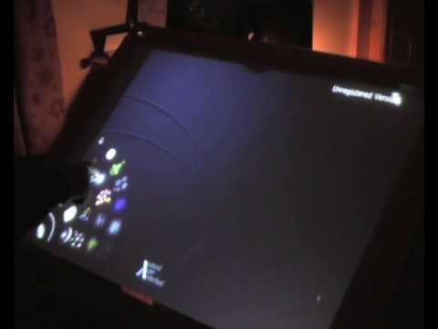 DIY LLP Multitouch Screen Demonstration