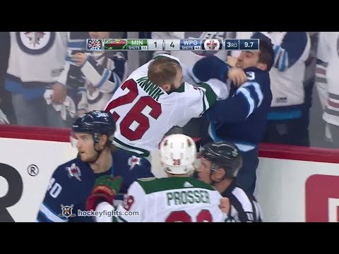 Daniel Winnik vs Brandon Tanev Apr 13, 2018