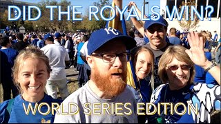 Did The Royals Win? World Series Game 5 -- SEASON FINALE