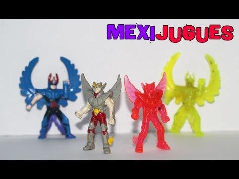 MexiJugues Colección Bootleg De Los Caballeros Del Zodiaco Parte 2