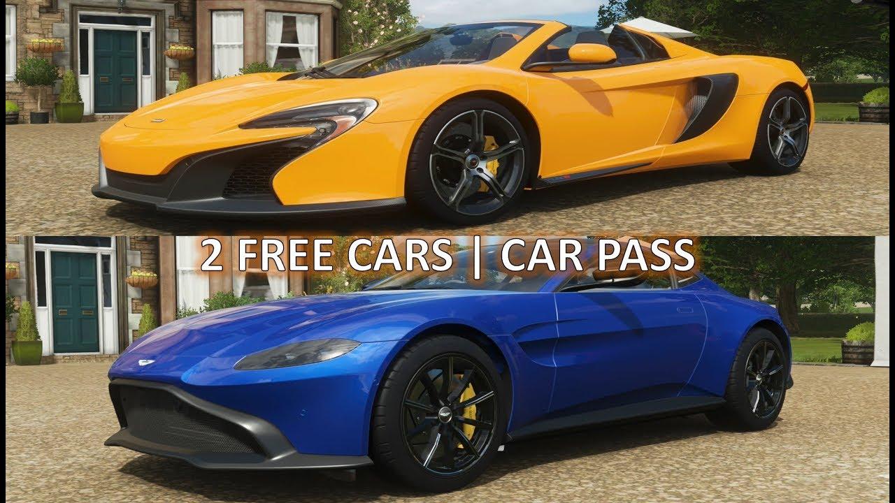 Forza Horizon 4: 2 Free Cars   Car Pass