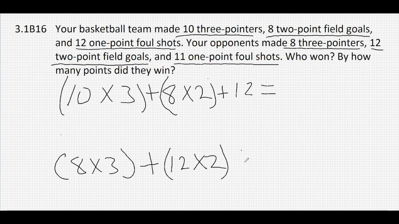 31B16 Order of Operations Word Problem YouTube – Order of Operations Word Problems Worksheets