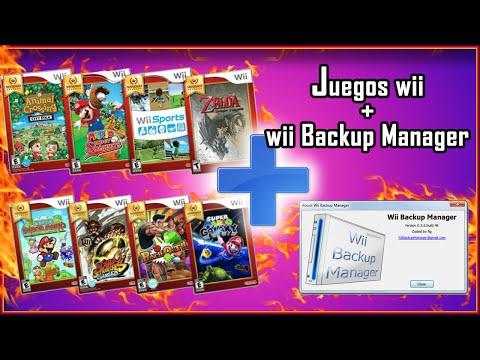 Como descargar juegos de Wii gratis  Wii Backup manager