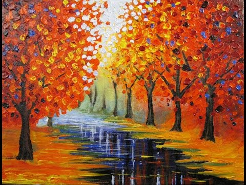 Art Lesson: How to Paint an Easy Leonid Afremov Inspired Piece