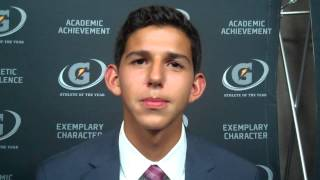 Grant Fisher (Gatorade athlete of the year ceremony)