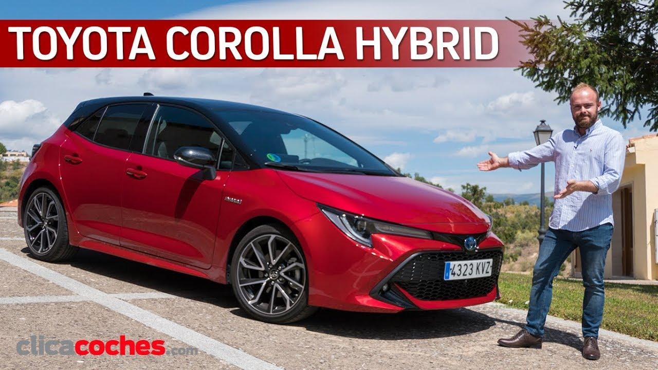 Toyota Corolla Hybrid   Prueba a fondo   Review en español - Clicacoches.com