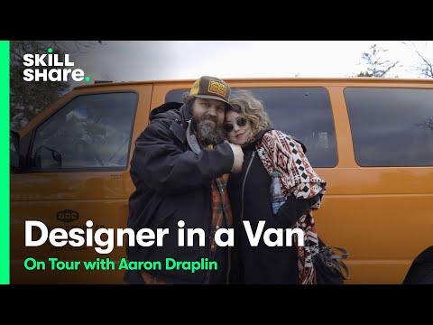 Designer in a Van: On Tour With Aaron Draplin | Skillshare Shorts