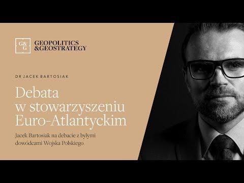Jacek Bartosiak w Stowarzyszeniu Euro-Atlantyckim na debacie z byłymi dowódcami Wojska Polskiego
