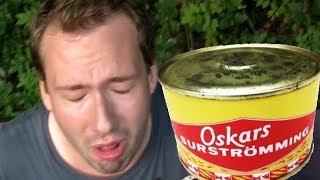 Ich probiere den Kotz-Fisch - Surströmming