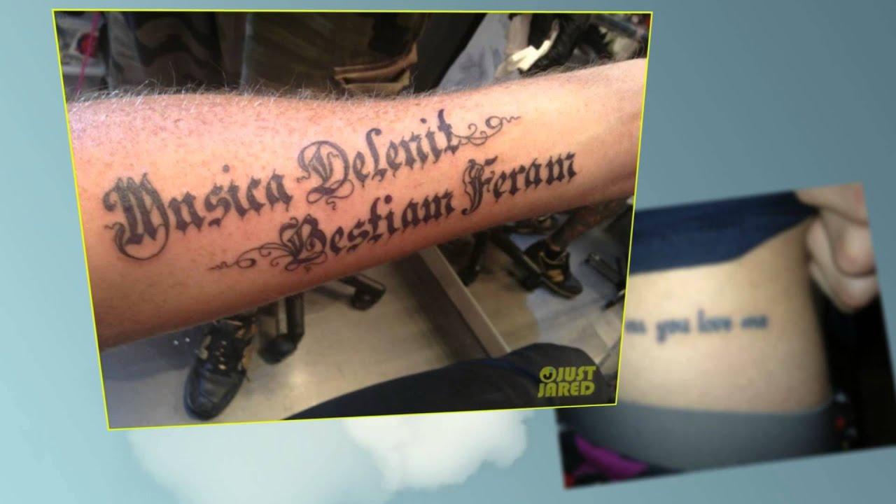 Trendy тату фото надписи на латыни с переводом