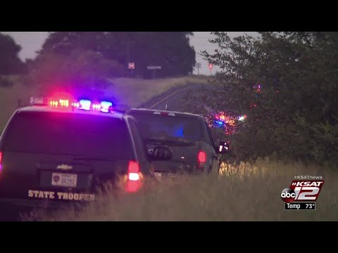 VIDEO: Manhunt underway in Atascosa County