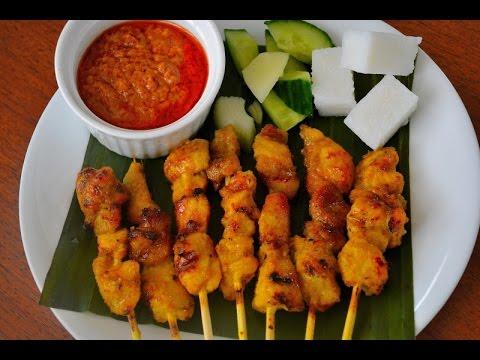 Real Malaysian Chicken Satay | Sate Ayam | Full Recipe