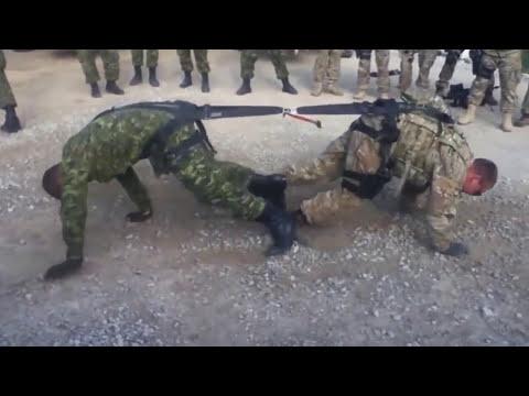 Türk Askeri Amerikan Askerine Karşı