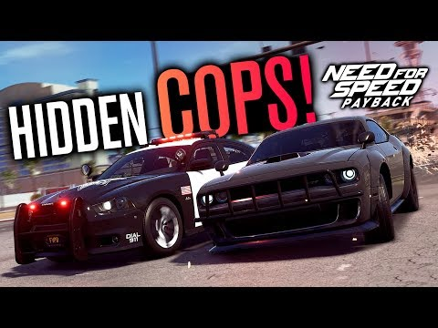 HIDDEN Free Roam Cops in Need for Speed Payback!