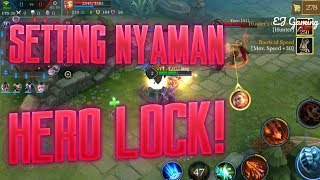 Mobile Arena - MODE HERO LOCK! SETTINGAN NYAMAN!