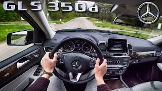 Mercedes Benz GLS POV Test Drive by AutoTopNL