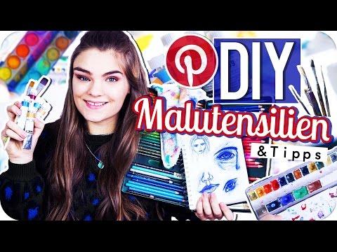 DIY's KIT, MALUTENSILIEN & mehr TIPPS ◇ für Farben, Pinsel & Watercolor  // I'mJette