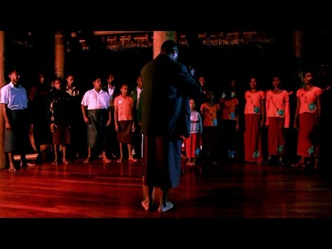 Fijian Village Choir at Namale Resort & Spa in SavuSavu, FIJI