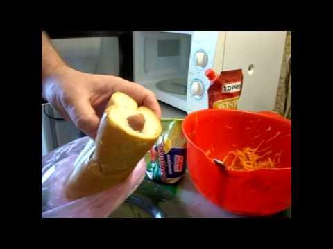 Как сделать вкусный хот - дог.  Делюсь секретом. // Олег Карп