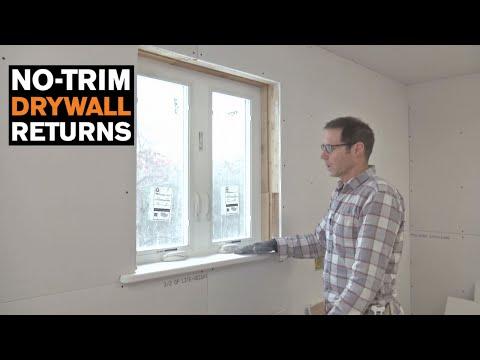 No-Trim Drywall Returns for Windows